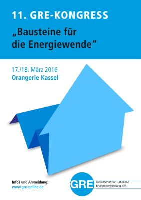 11. GRE- Kongress am 17./18.März 2016